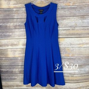 ##NWT Enfocus Studio dress size 8 sleeveless blue#